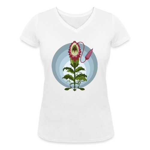 Il giorno dei Trifidi - John Whyndam - T-shirt ecologica da donna con scollo a V di Stanley & Stella