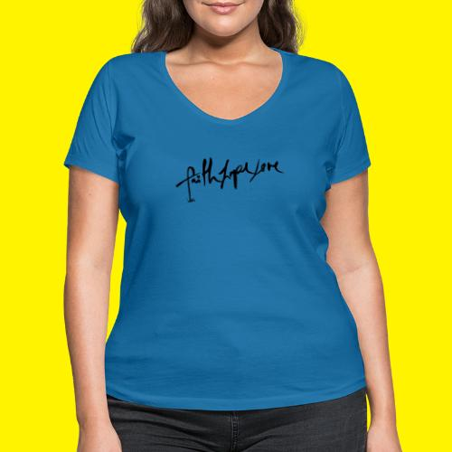 Faith Hope Love - Women's Organic V-Neck T-Shirt by Stanley & Stella