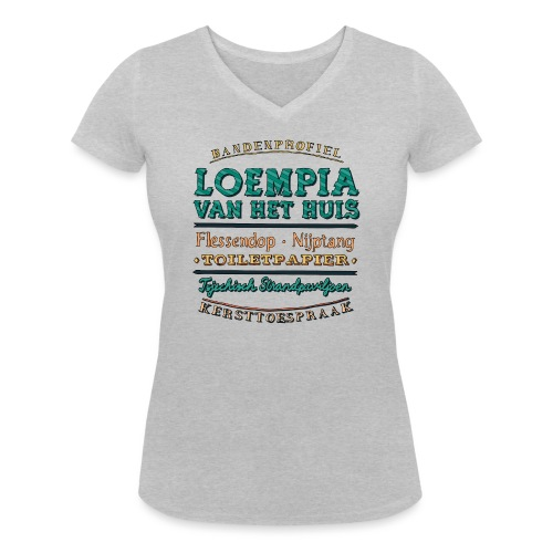 Bandenprofiel - Vrouwen bio T-shirt met V-hals van Stanley & Stella