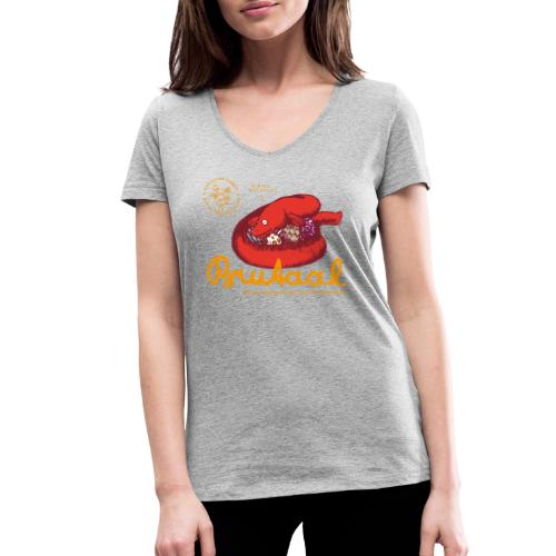 Brutaal ! - Frauen Bio-T-Shirt mit V-Ausschnitt von Stanley & Stella