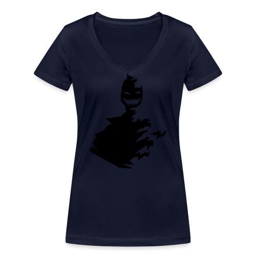 t shirt monster (black/schwarz) - Frauen Bio-T-Shirt mit V-Ausschnitt von Stanley & Stella