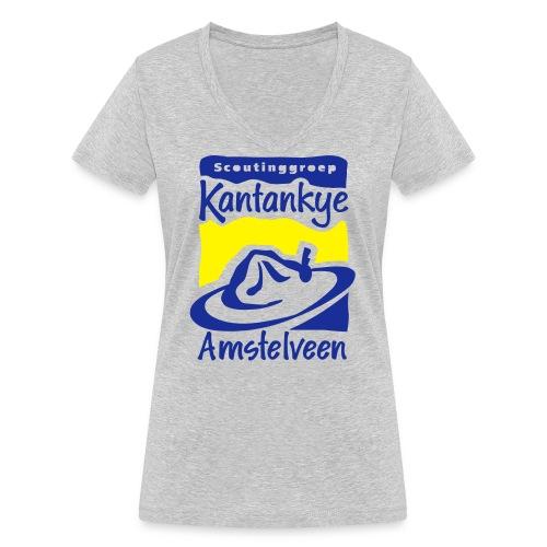 logo simpel 2 - Vrouwen bio T-shirt met V-hals van Stanley & Stella