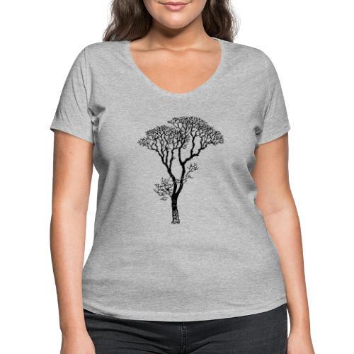 #agireverde - T-shirt ecologica da donna con scollo a V di Stanley & Stella
