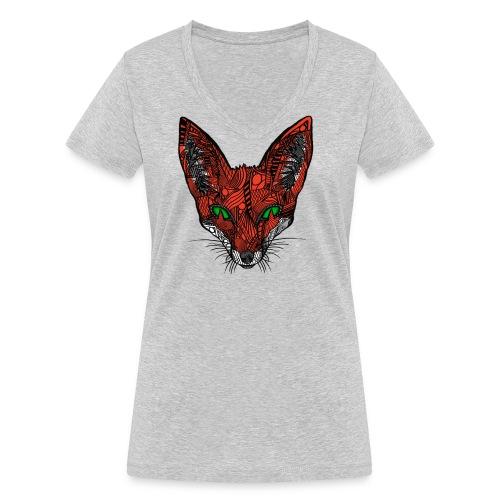 Rev - Økologisk T-skjorte med V-hals for kvinner fra Stanley & Stella