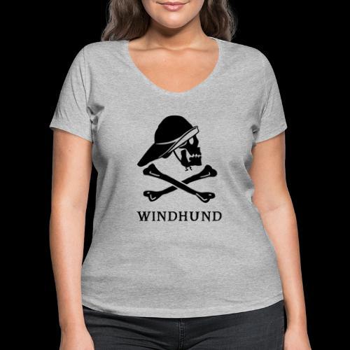 ~ Windhund ~ - Frauen Bio-T-Shirt mit V-Ausschnitt von Stanley & Stella