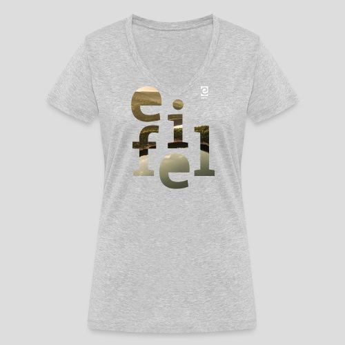 eifel - weiß - Frauen Bio-T-Shirt mit V-Ausschnitt von Stanley & Stella