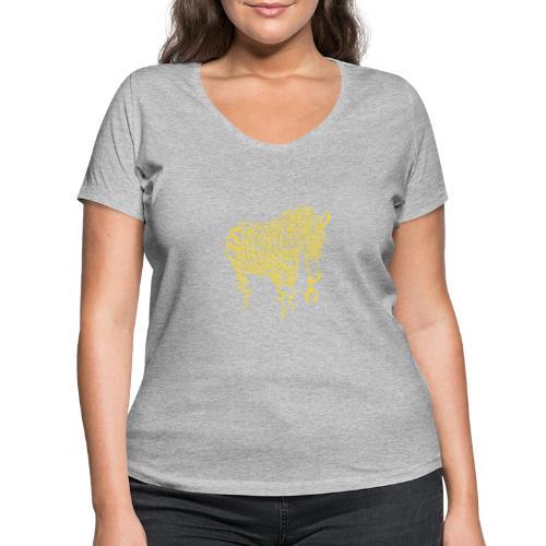 Nature of Crime - Frauen Bio-T-Shirt mit V-Ausschnitt von Stanley & Stella