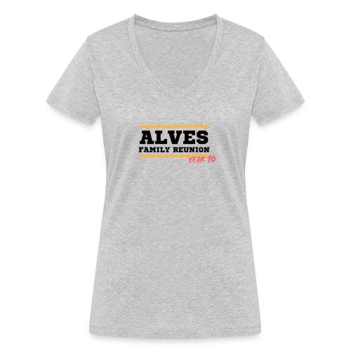 Alves - T-shirt ecologica da donna con scollo a V di Stanley & Stella