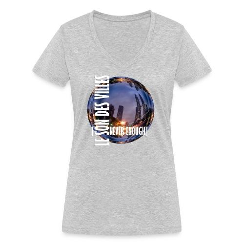 Le Son Des Villes :world - T-shirt bio col V Stanley & Stella Femme