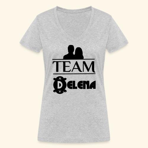Team Delena - Women's Organic V-Neck T-Shirt by Stanley & Stella