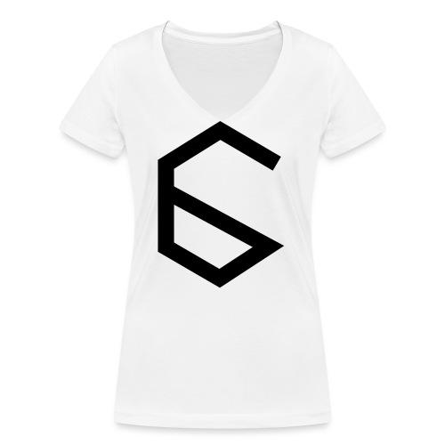 6 - Women's Organic V-Neck T-Shirt by Stanley & Stella