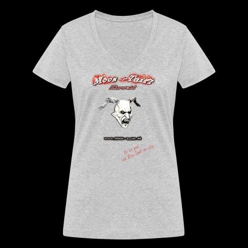 bedruck 2016 vorne original3 png - Frauen Bio-T-Shirt mit V-Ausschnitt von Stanley & Stella