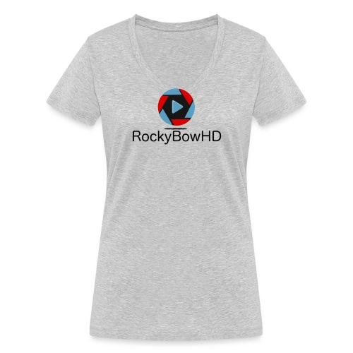 Logo2 - Frauen Bio-T-Shirt mit V-Ausschnitt von Stanley & Stella