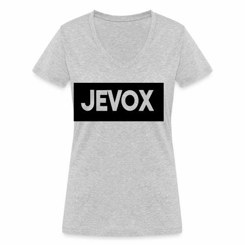 Jevox Black - Vrouwen bio T-shirt met V-hals van Stanley & Stella