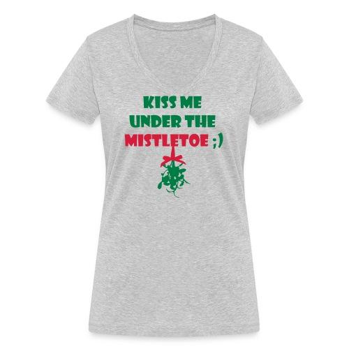 mistletoe - Frauen Bio-T-Shirt mit V-Ausschnitt von Stanley & Stella