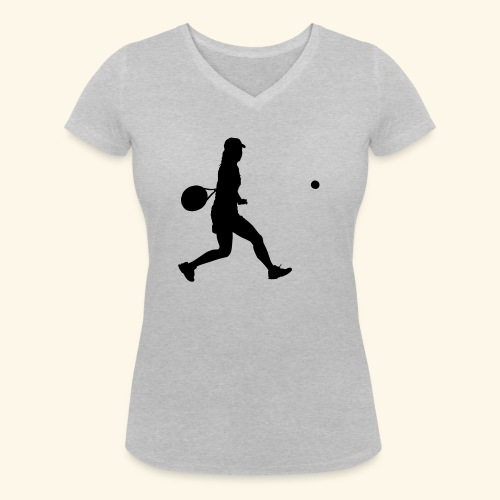 tennis woman 2 - T-shirt bio col V Stanley & Stella Femme