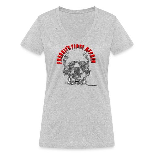 Frankiefirstaffair_2 - Camiseta ecológica mujer con cuello de pico de Stanley & Stella