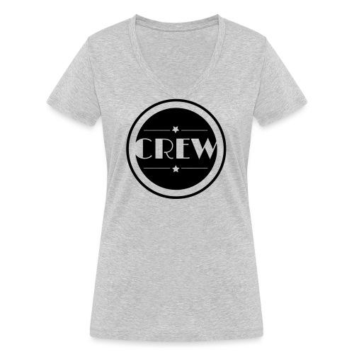 CREW - Frauen Bio-T-Shirt mit V-Ausschnitt von Stanley & Stella