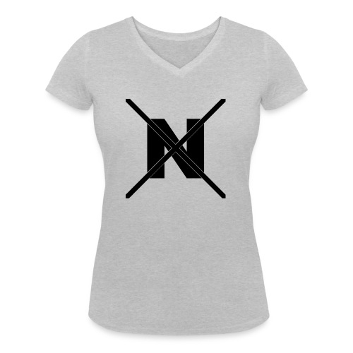 NX Hoodie - Women's Organic V-Neck T-Shirt by Stanley & Stella