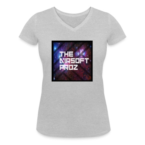 TheAirsoftProz Galaxy Mens Long Sleeve - Women's Organic V-Neck T-Shirt by Stanley & Stella