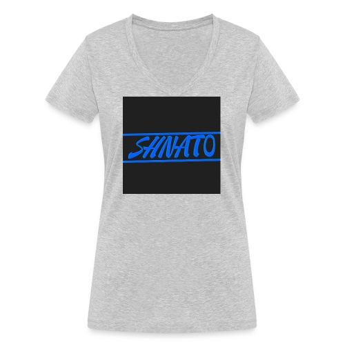 My logo - Women's Organic V-Neck T-Shirt by Stanley & Stella