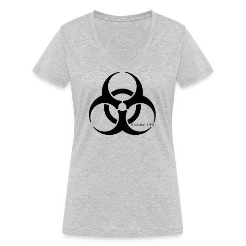Biohazard - Shelter 142 - Frauen Bio-T-Shirt mit V-Ausschnitt von Stanley & Stella