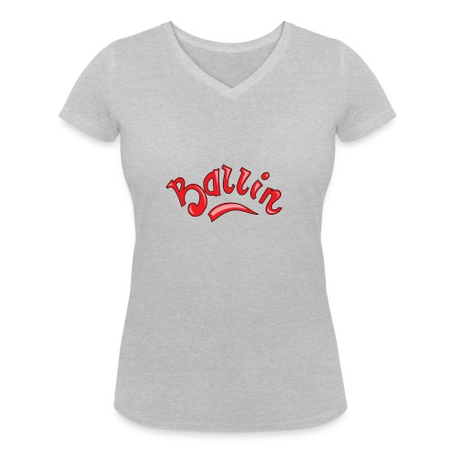 Ballin - Vrouwen bio T-shirt met V-hals van Stanley & Stella