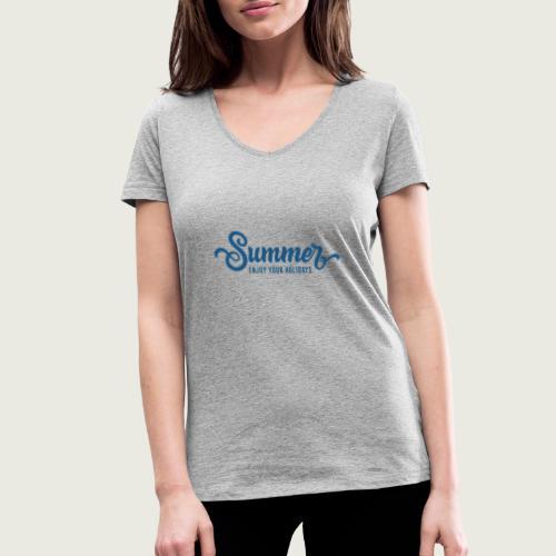 Summer - T-shirt bio col V Stanley & Stella Femme