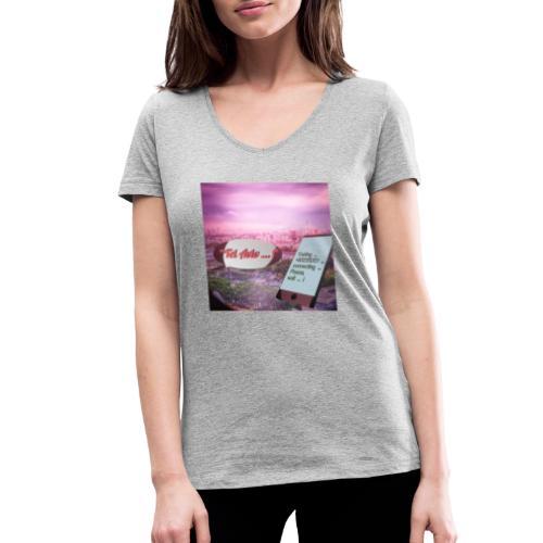 Tal Aviv is calling - traumhafter Sehnsuchtsort - Frauen Bio-T-Shirt mit V-Ausschnitt von Stanley & Stella