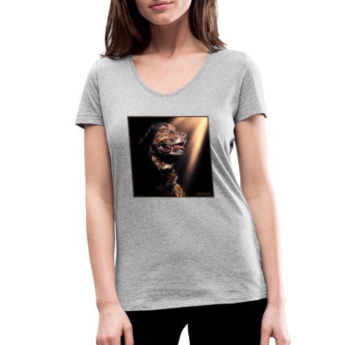 The Kind Hearted Beast - Vrouwen bio T-shirt met V-hals van Stanley & Stella