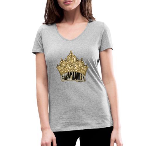 Dramaqueen - Vrouwen bio T-shirt met V-hals van Stanley & Stella