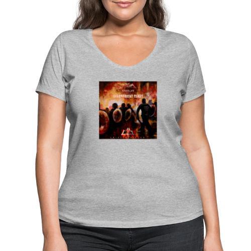 Crime1minister Anarchy3 Final EP - Ekologisk T-shirt med V-ringning dam från Stanley & Stella