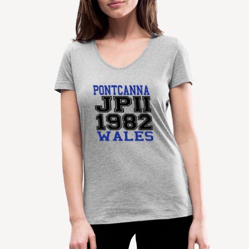 PONTCANNA 1982 - Women's Organic V-Neck T-Shirt by Stanley & Stella
