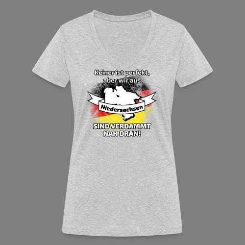 Perfekt Niedersachsen - Frauen Bio-T-Shirt mit V-Ausschnitt von Stanley & Stella