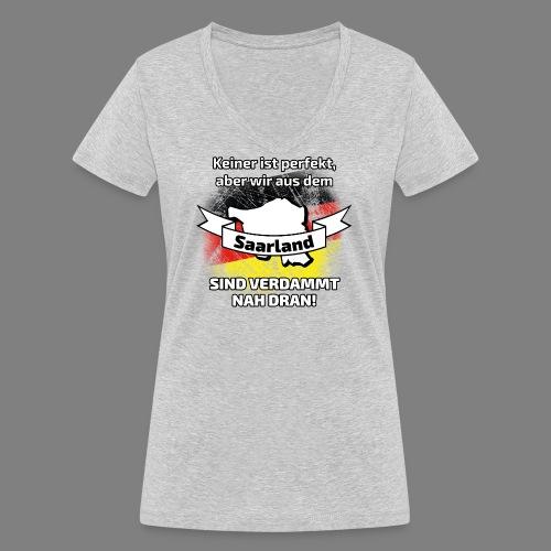 Perfekt Saarland - Frauen Bio-T-Shirt mit V-Ausschnitt von Stanley & Stella