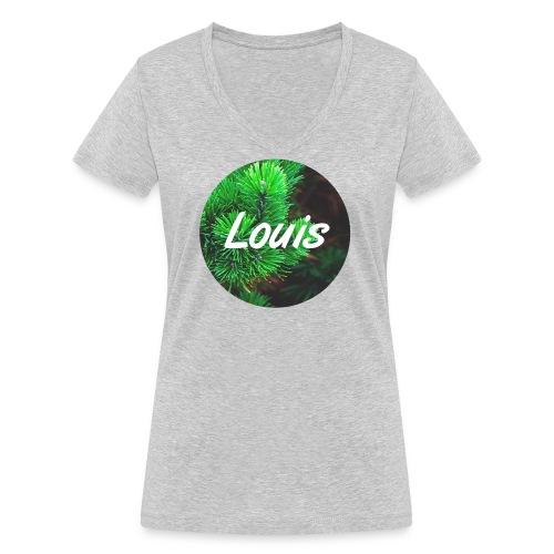 Louis round-logo - Frauen Bio-T-Shirt mit V-Ausschnitt von Stanley & Stella