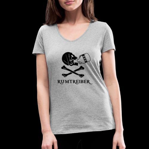 ~ Rumtreiber ~ - Frauen Bio-T-Shirt mit V-Ausschnitt von Stanley & Stella