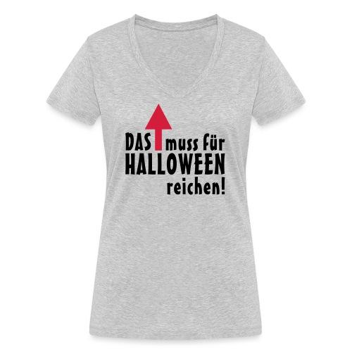 HALLOWEEN Pfeil - Frauen Bio-T-Shirt mit V-Ausschnitt von Stanley & Stella