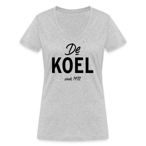 De Koel - Frauen Bio-T-Shirt mit V-Ausschnitt von Stanley & Stella