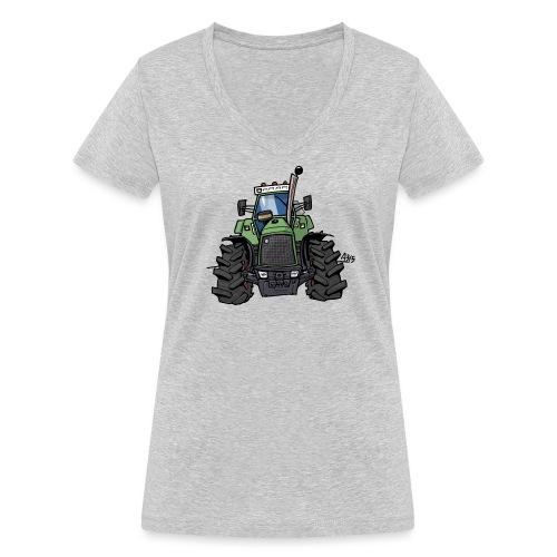 0145 F - Vrouwen bio T-shirt met V-hals van Stanley & Stella
