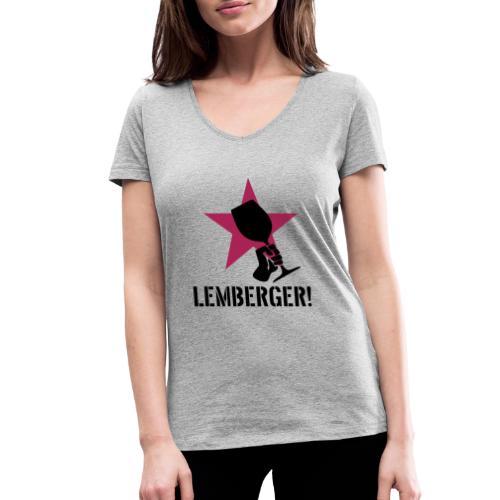 Lemberger Revolution - Frauen Bio-T-Shirt mit V-Ausschnitt von Stanley & Stella