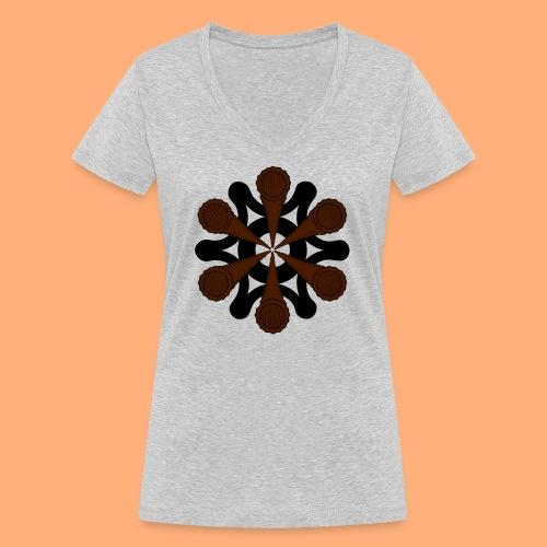 vortex - T-shirt bio col V Stanley & Stella Femme