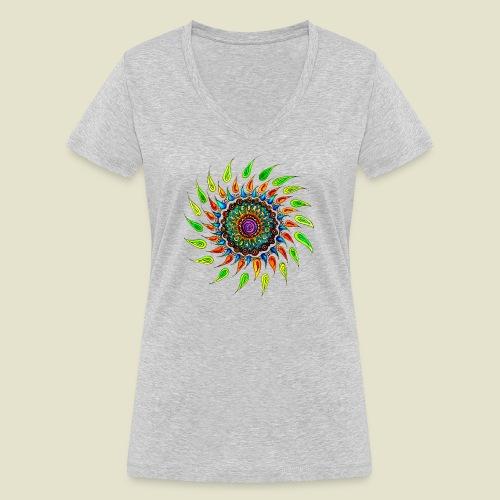 Celebrate Life - Frauen Bio-T-Shirt mit V-Ausschnitt von Stanley & Stella