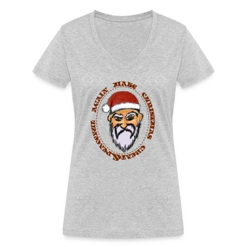 christmas tshirt - T-shirt bio col V Stanley & Stella Femme