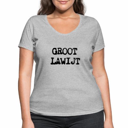 Groot Lawijt - Vrouwen bio T-shirt met V-hals van Stanley & Stella