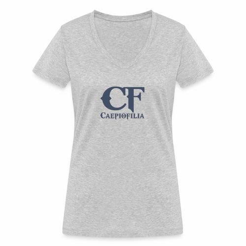 Caepiofilia Marino - Camiseta ecológica mujer con cuello de pico de Stanley & Stella