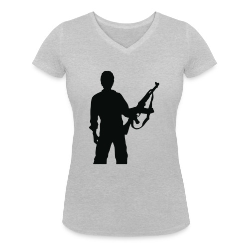 RESISTENZA INTERNAZIUNALE - T-shirt bio col V Stanley & Stella Femme