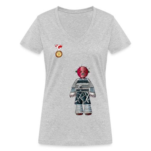 Trashcan - Frauen Bio-T-Shirt mit V-Ausschnitt von Stanley & Stella