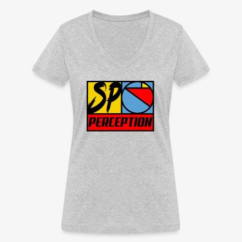 SP RETRO 2019 - PERCEPTION CLOTHING - T-shirt bio col V Stanley & Stella Femme