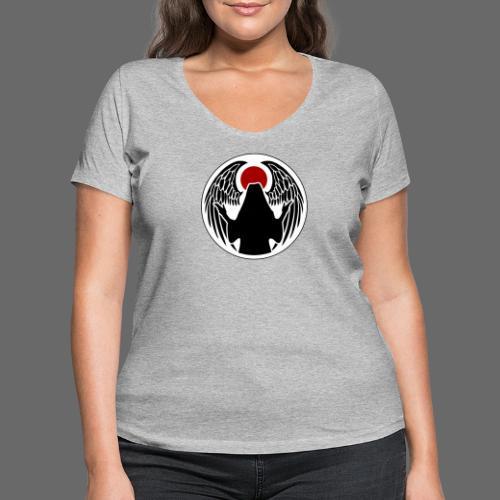Dunkler gefallener Engel - Frauen Bio-T-Shirt mit V-Ausschnitt von Stanley & Stella